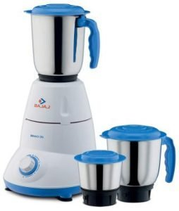 Bajaj Bravo Dlx 500-Watt Mixer Grinder, Best Mixer Grinder Under 2000 (2020)