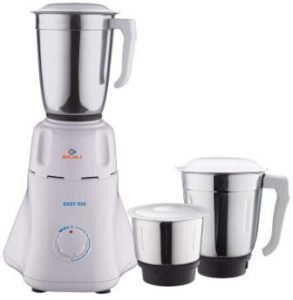 Bajaj Easy 500-Watt Mixer Grinder with 3 Jars, Best Mixer Grinder under 2500 (2019)
