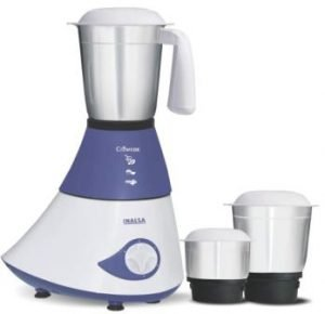 Inalsa Crown Dx 750-Watt Mixer Grinder with 3 Jars