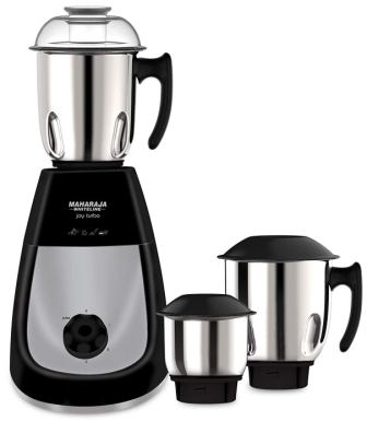 Best Mixer Grinder Under 2500, Maharaja Whiteline Joy Turbo 750-Watt Mixer Grinder with 3 Jars is the best mixer grinder under 2500