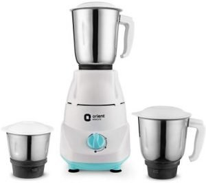 Orient Electric Kitchen Kraft MGKK50B3 500-Watt Mixer Grinder with 3 Jars