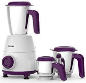 Philips Daily Collection HL7505 00 500-Watt Mixer Grinder with 3 Jars