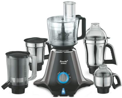Best Mixer Grinder in India, Preethi Zodiac MG 218 750-Watt Mixer Grinder with 5 Jars