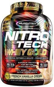 Muscletech Performance Series Nitrotech Whey Gold